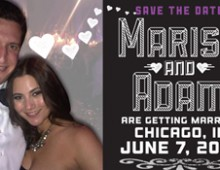 Marisa & Adam's Save the Date