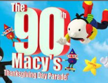 Macy's 90th Thanksgiving Day Parade Advertising
